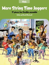 More String Time Joggers: Viola Book