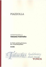Verano Portena for Violin and String Orchestra, VP