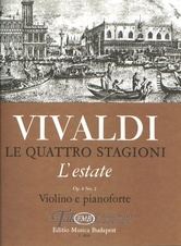 Estate RV 315 (F.I. No. 23, P.V. 336) - Le quattro stagioni op. 8, no. 2