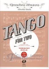Tango for Two: 12 Tangos for Trumpet and Piano (Trumpet Solo) + CD