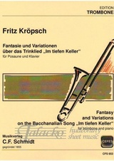 "Fantasy and Variations on the Bacchanalian Song ""Im tiefen Keller"""