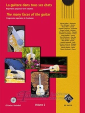Many faces of the guitar Volume 2 + CD