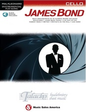 Instrumental Play-Along: James Bond - Cello (Book/Online Audio)