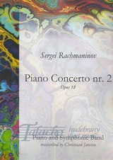 Piano Concerto nr. 2, op. 18 for Piano and Symphonic Band