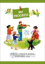 "Lesson Book ""My Progress"""