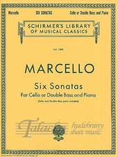 Six Sonatas For Cello Or Double Bass