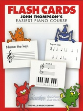 John Thompson's Easiest Piano Course: Flash Cards
