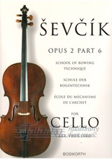 School Of Bowing Technique op.2, part 6 (Violoncello)