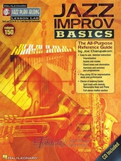 Jazz Play-Along Volume 150: Jazz Improv Basics + CD