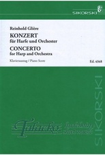 Concerto for Harp and Orchestra op. 74