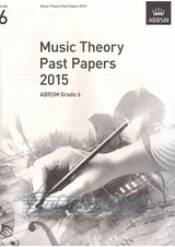 Music Theory Past Papers 2015, ABRSM Grade 6
