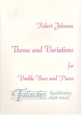 Theme and Variations for Double Bass and Piano