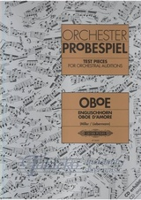 Test Pieces for Orchestral Auditions - Oboe