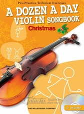 Dozen A Day Violin Songbook: Christmas + CD