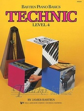 Bastien Piano Basics: Technic Level 4