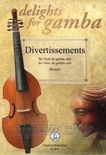 Divertissements for Viola da gamba solo