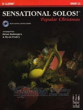 Sensational Solos - Popular Christmas - B Clarinet + CD