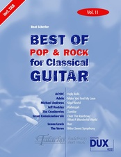 Best Of Pop & Rock for Classical Guitar 11