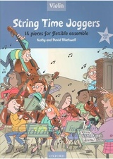 String Time Joggers - Violin book + CD