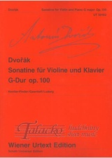 Sonatine for Violin and Piano Gdur, op. 100
