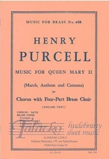 Music for Queen Mary II. - Chorus