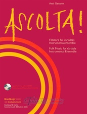 Ascolta! (Folk Music for Variable Instrumental Ensemble) + CD