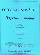 Perpetuum mobile for violin and piano