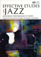Effective Etudes For Jazz - Piano + CD