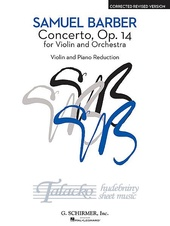 Concerto For Violin And Orchestra op. 14 (corrected revised version)