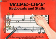 Bastien Piano Basics: Wipe-Off Keyboards And Staffs