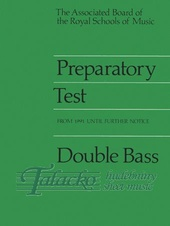 Preparatory Test for Double Bass