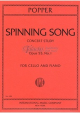 Spinning Song (Concert study) op. 55, no. 1