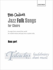 Jazz Folk Songs for Choirs - Bass part