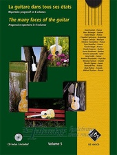 Many faces of the guitar Volume 5 + CD