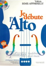 Je débute l´alto + CD