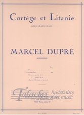 Cortege et Litanie pour grand orgue op. 19, no. 2