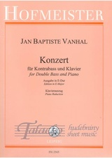 Konzert for Double Bass and Piano E-Major